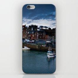 Fishing Harbor iPhone Skin