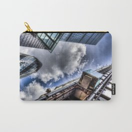 Lloyd's the Cheese Grater and Gherkin buildings London Carry-All Pouch