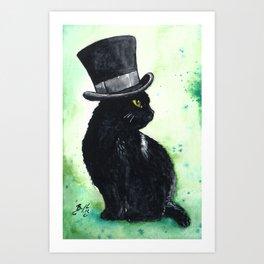 A Very Fine Hat Art Print