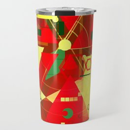 Blooming poppy Travel Mug