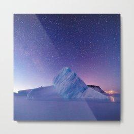 Iceberg in North Star Bay, Greenland Metal Print