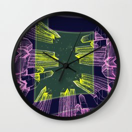 Stellar Area 01-08-16 Wall Clock