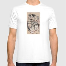 Hater Or Lover Mens Fitted Tee SMALL White