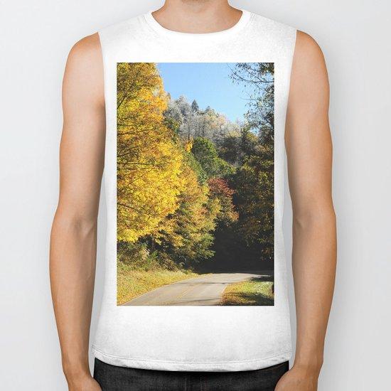 Down this road Biker Tank