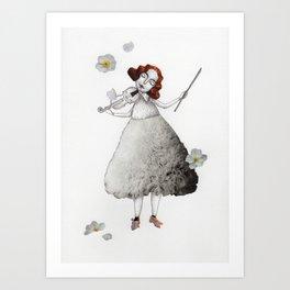 Picture Three:  The Violin Art Print
