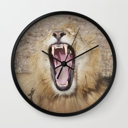 Lion - Me Too Wall Clock