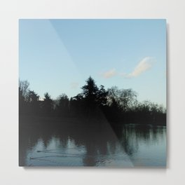 Nature, landscape and twilight 4 Metal Print