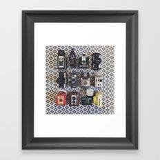 Camera Collection Framed Art Print