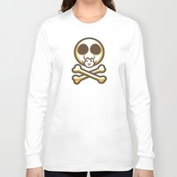 pagan Long Sleeve T-shirts featuring Pagan and Crossbones by Pagan Holladay