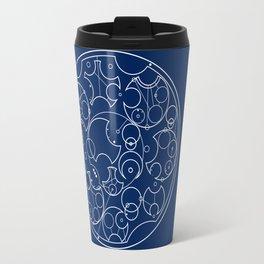 Gallifreyan Sherlock Travel Mug