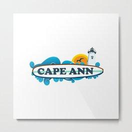 Cape Ann Metal Print