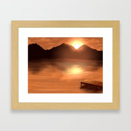 Scenery Framed Art Print