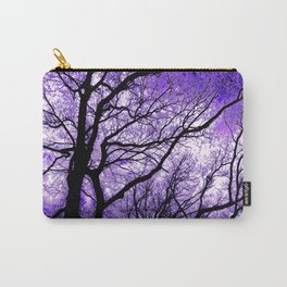 The Trees Know (purple) Carry-All Pouch