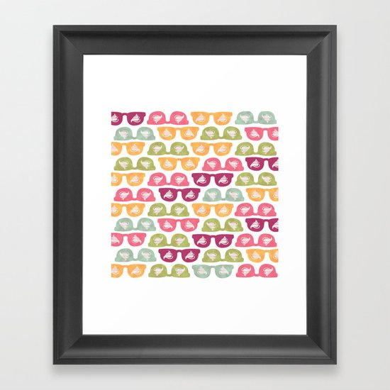 Yummy Hipster Framed Art Print