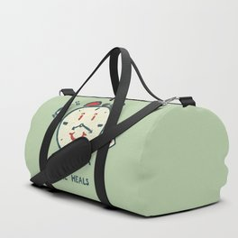 Time heals Duffle Bag