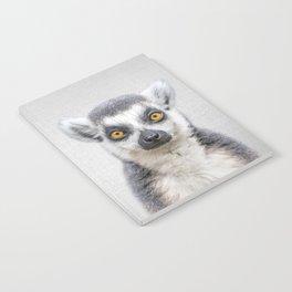 Lemur 2 - Colorful Notebook