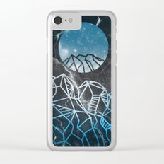 galaxy landscape 2 Clear iPhone Case