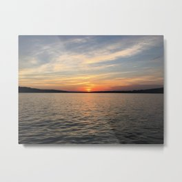 Potamac River Sunset Metal Print