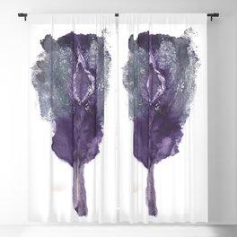 Verronica's Vulva Print. No.1 Blackout Curtain