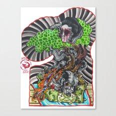 bonsai ghost Canvas Print