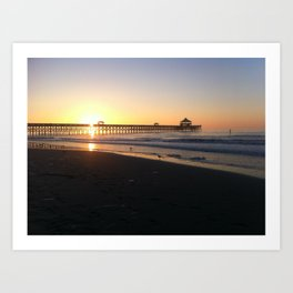 Coastal Sunrise Art Print