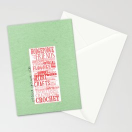 HodgePodge Crochet Groupie 2015 Stationery Cards