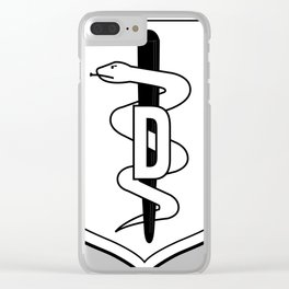 Medical Badge 1 Clear iPhone Case