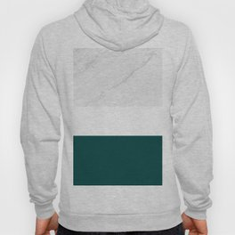 Marble And Teal Hoody
