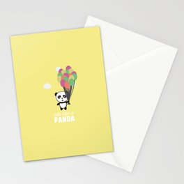 Cute like a Panda T-Shirt for all Ages D6rkb Stationery Cards
