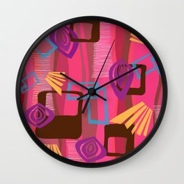Shagtastic Wall Clock