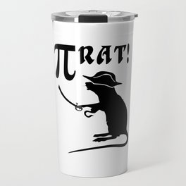 pi rat pirate Travel Mug