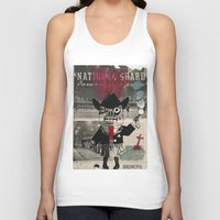 the national Tank Tops featuring national guard by Normunds Bruveris