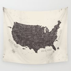 USA Wall Tapestry