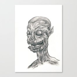 The Devil Within Canvas Print