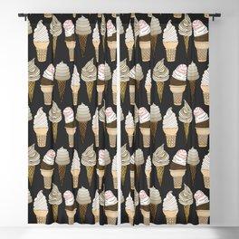 Ice Cream Cones Blackout Curtain