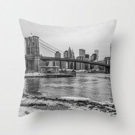 Dumbo New York Throw Pillow