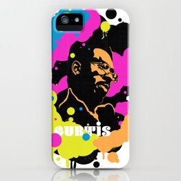 Soul Activism :: Curtis Mayfield iPhone Case