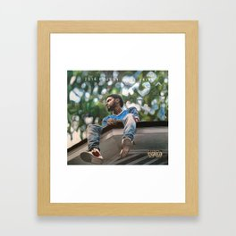 J.Cole 2014 Forest Hills Drive Drawing Framed Art Print