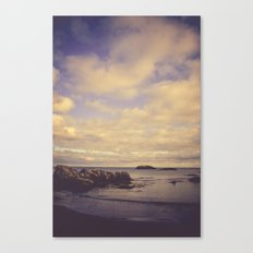 Her Dreams Stretched as Far as the Sea Was Wide Canvas Print