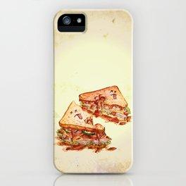 Sandwich Massacre iPhone Case