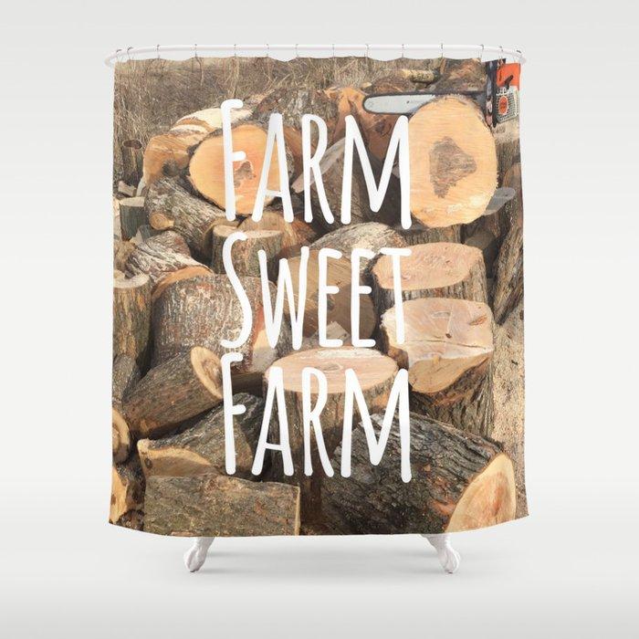 Oh Sweet Farm Shower Curtain