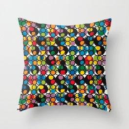 POP - Circles Throw Pillow