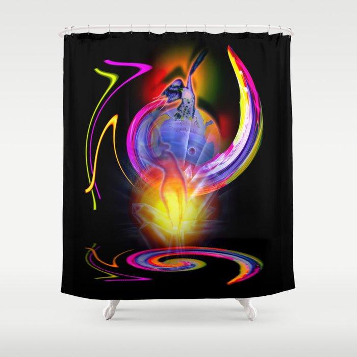Life´s dream - Wellness Shower Curtain