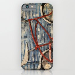 I Want to Ride My Bicycle iPhone Case