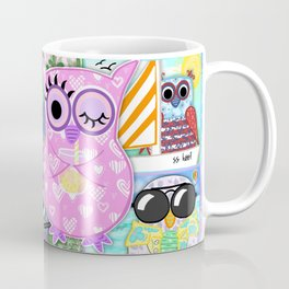 Vacation Owls Coffee Mug