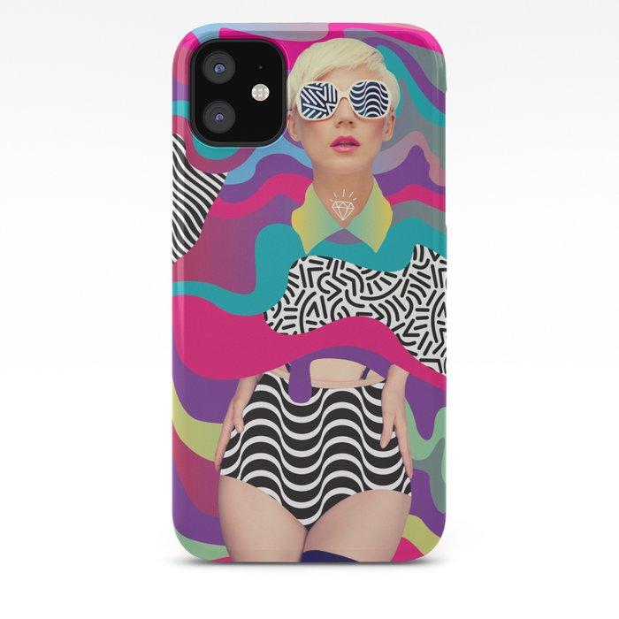 Lava Girl iPhone Case