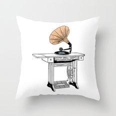 I'm singer and I know it Throw Pillow