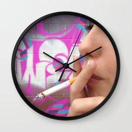 nat Wall Clock