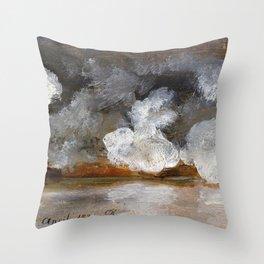 Johan Christian Dahl - Smoke From Cannon Shots - Digital Remastered Edition Throw Pillow