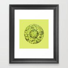 Green Beans Framed Art Print